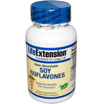 Life Extension Soy Isoflavones Super Absorbable 60 Veggie Caps
