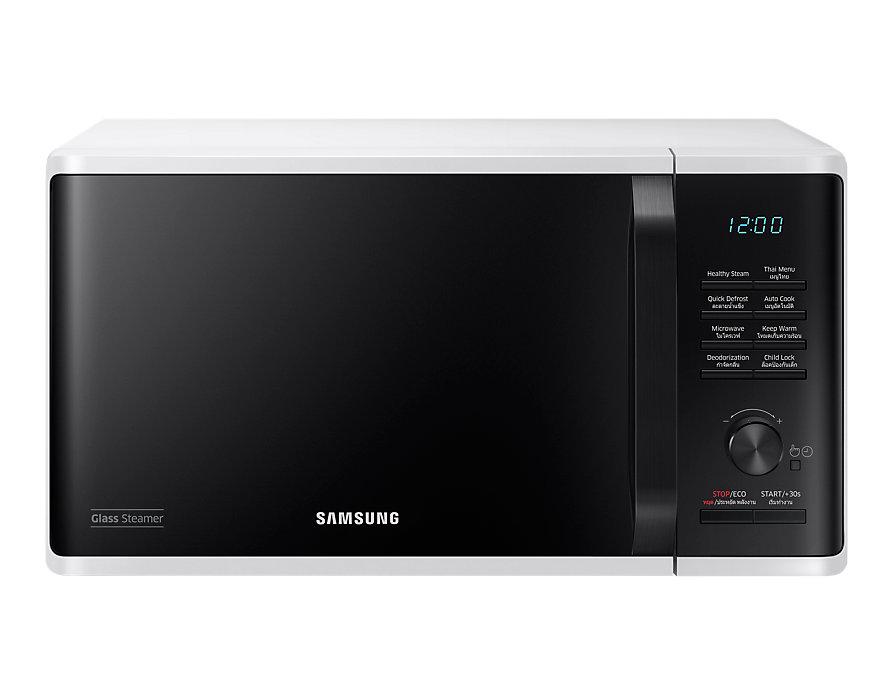 ไมโครเวฟ อุ่น - นึ่ง Samsung 23 ลิตร MS23K3555EW/ST