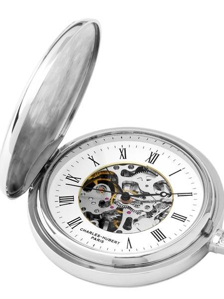 นาฬิกาพกพา Charles-Hubert รุ่น 3703, 17-Jewel Mechanical Hand Wind