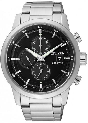 นาฬิกาข้อมือผู้ชาย Citizen Eco-Drive รุ่น CA0610-52E, Chronograph 100m