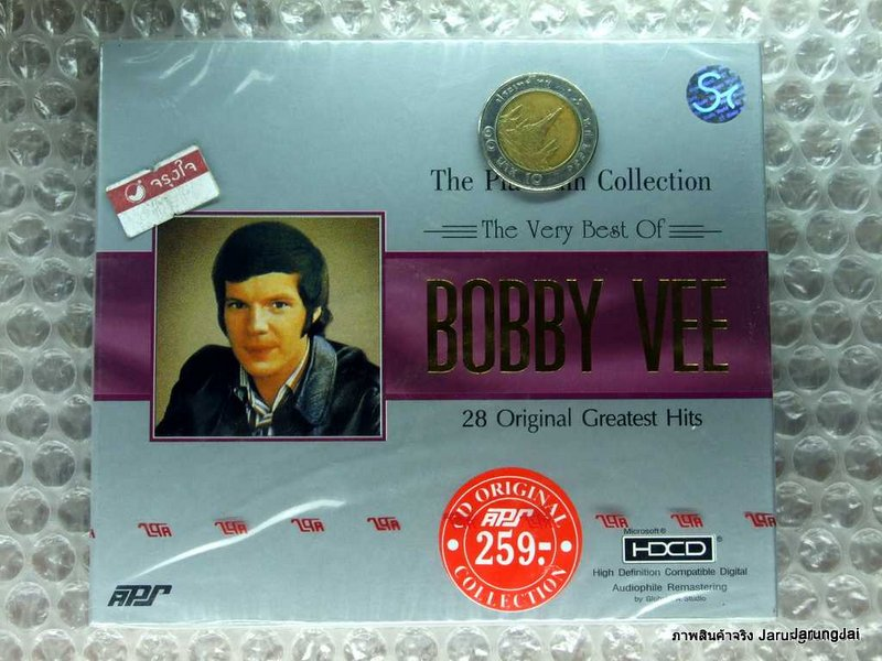 CD the very best of BOBBY VEE/ APS