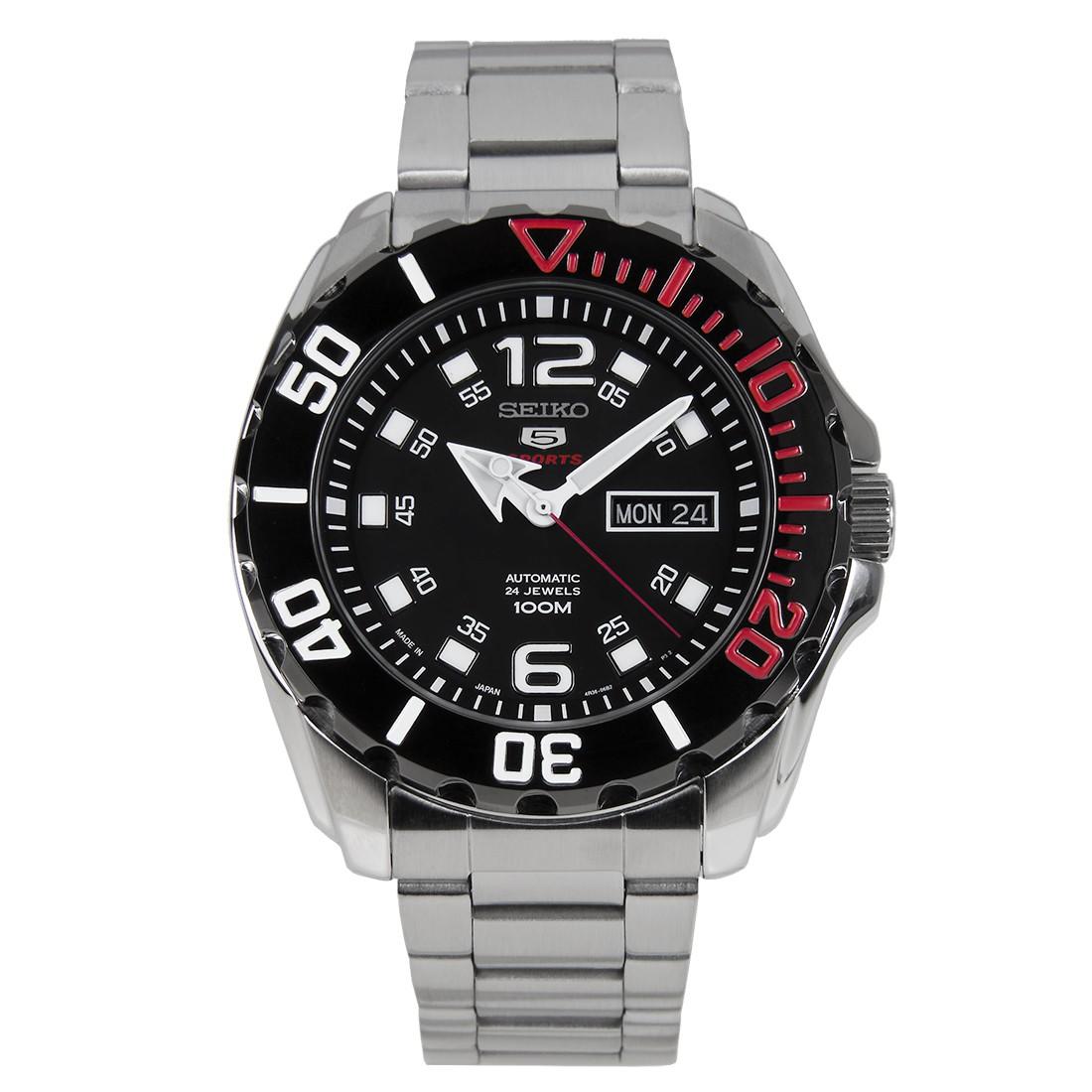 นาฬิกาผู้ชาย Seiko รุ่น SRPB35J1, Seiko 5 Sports Automatic Japan