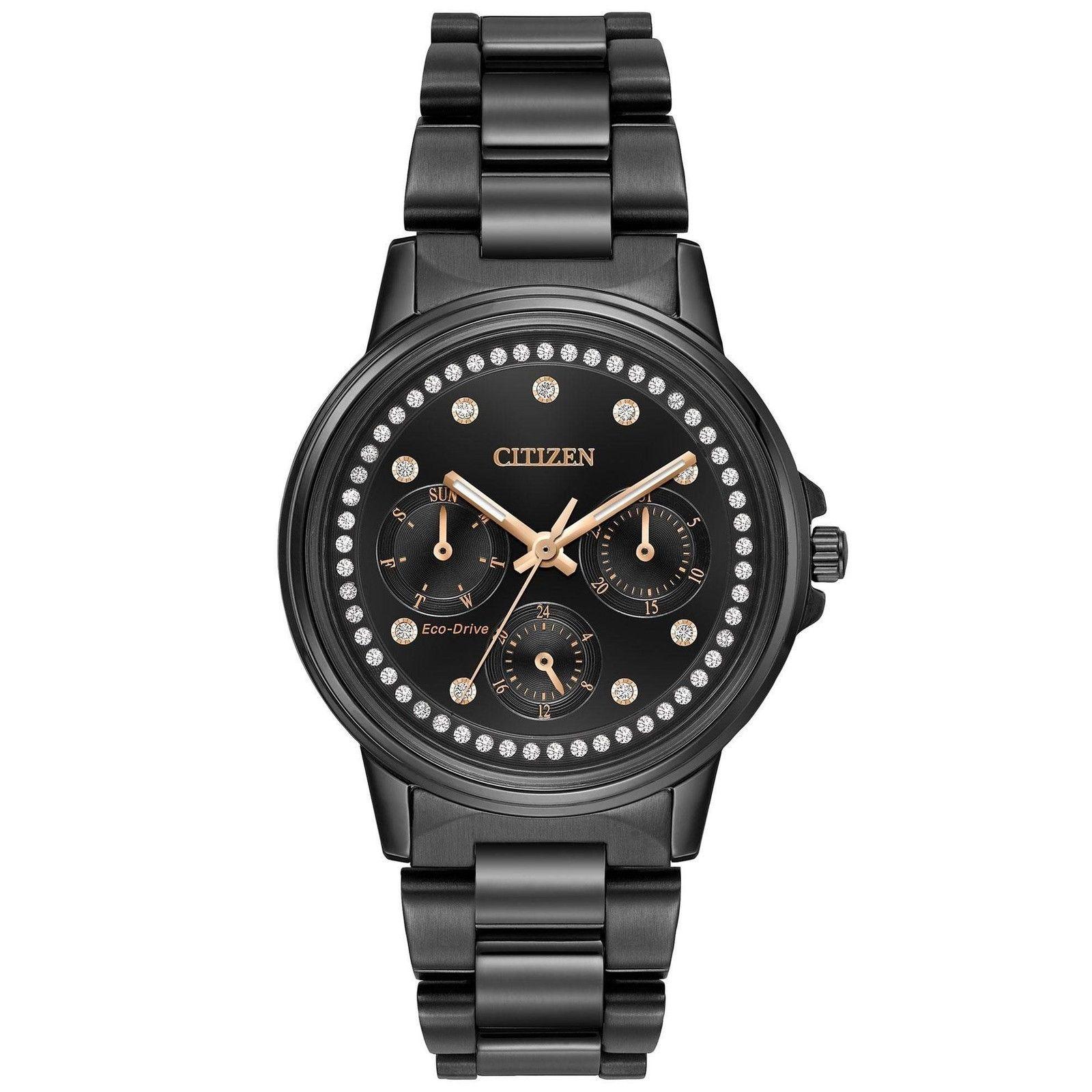 นาฬิกาผู้หญิง Citizen Eco-Drive รุ่น FD2047-58E