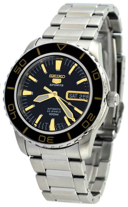 นาฬิกาผู้ชาย Seiko รุ่น SNZH57K1, Seiko 5 Automatic Men's Watch