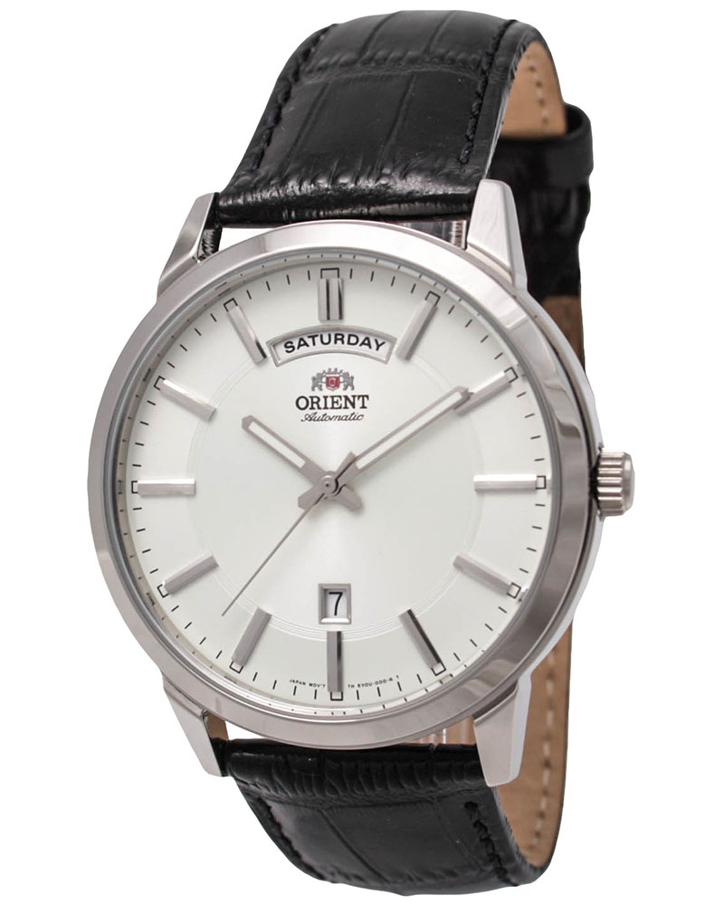 นาฬิกาผู้ชาย Orient รุ่น FEV0U003W, Classic Automatic Black Dial