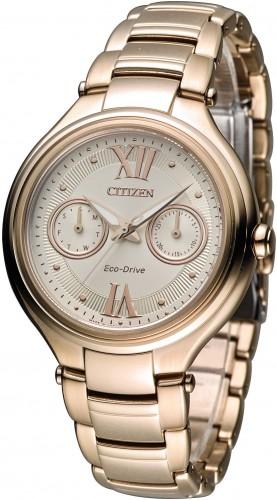 นาฬิกาข้อมือผู้หญิง Citizen Eco-Drive รุ่น FD4003-52P, Elegant Japan Sapphire