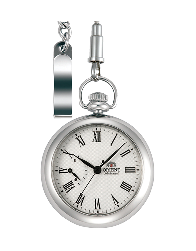นาฬิกาพก Orient Power รุ่น FDD00002W0, Epoch Mechanical Automatic Sapphire Pocket Watch
