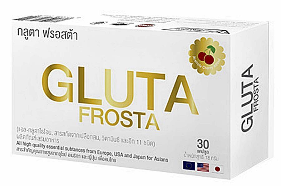 กลูตา ฟรอสต้า gluta frosta บรรจุ 30 แคปซูล