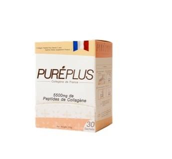 เพียวเร่พลัส คอลลาเจน เปปไทด์ 30 ซอง/ Pureplue Collagen Peptide