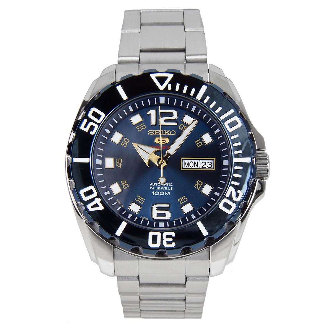 นาฬิกาผู้ชาย Seiko รุ่น SRPB37J1, Seiko 5 Sports Automatic Japan
