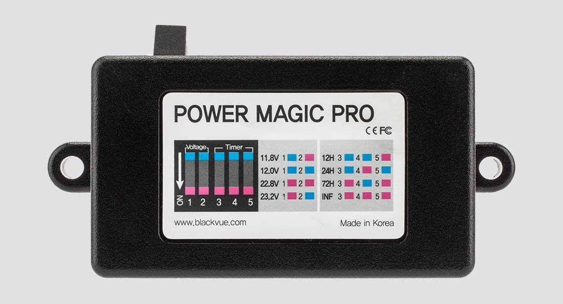 Power Magic Pro จาก Blackvue ทำให้กล้องติดรถยนต์ทำงานตอนจอดได้