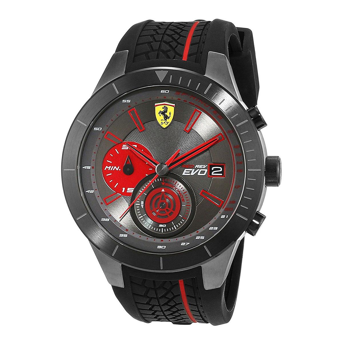 นาฬิกาผู้ชาย Ferrari รุ่น 0830341, RedRev Evo
