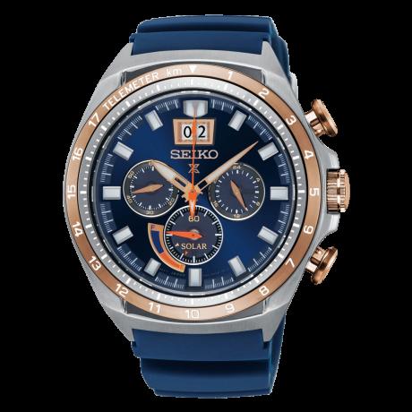 นาฬิกาผู้ชาย Seiko รุ่น SSC666P1, Prospex Solar Chronograph Special Edition