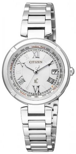 นาฬิกาข้อมือผู้หญิง Citizen Eco-Drive รุ่น EC1110-52A, Radio World Time Japan Sapphire