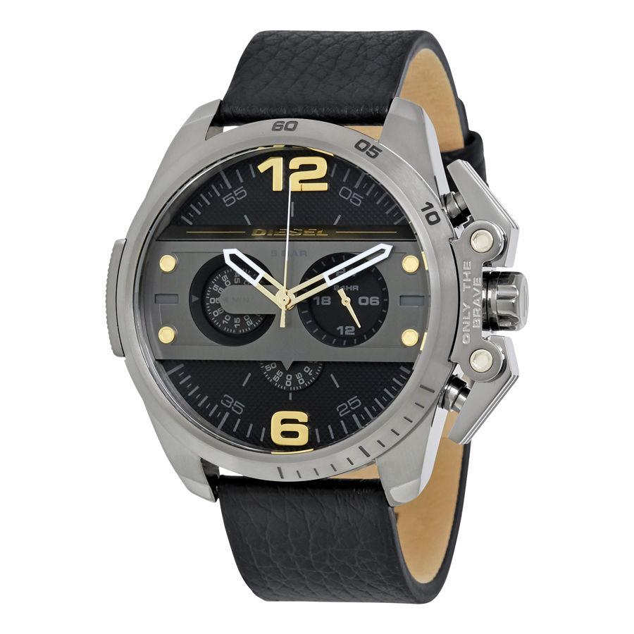 นาฬิกาผู้ชาย Diesel รุ่น DZ4386, Ironside Black-plated