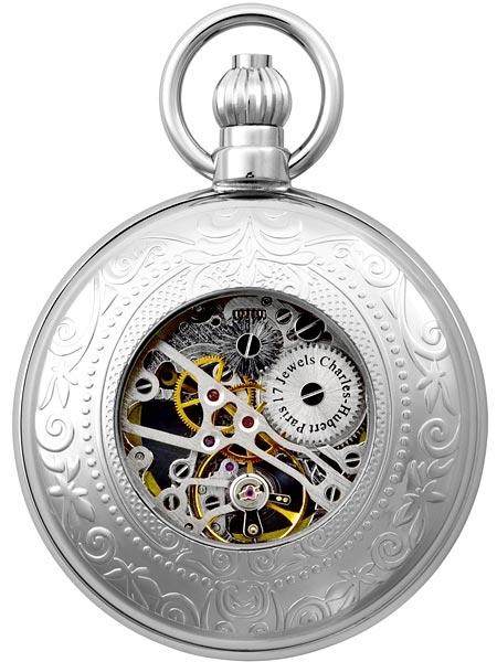 นาฬิกาพกพา Charles-Hubert รุ่น 3527-W, 17-Jewel Mechanical Hand Wind