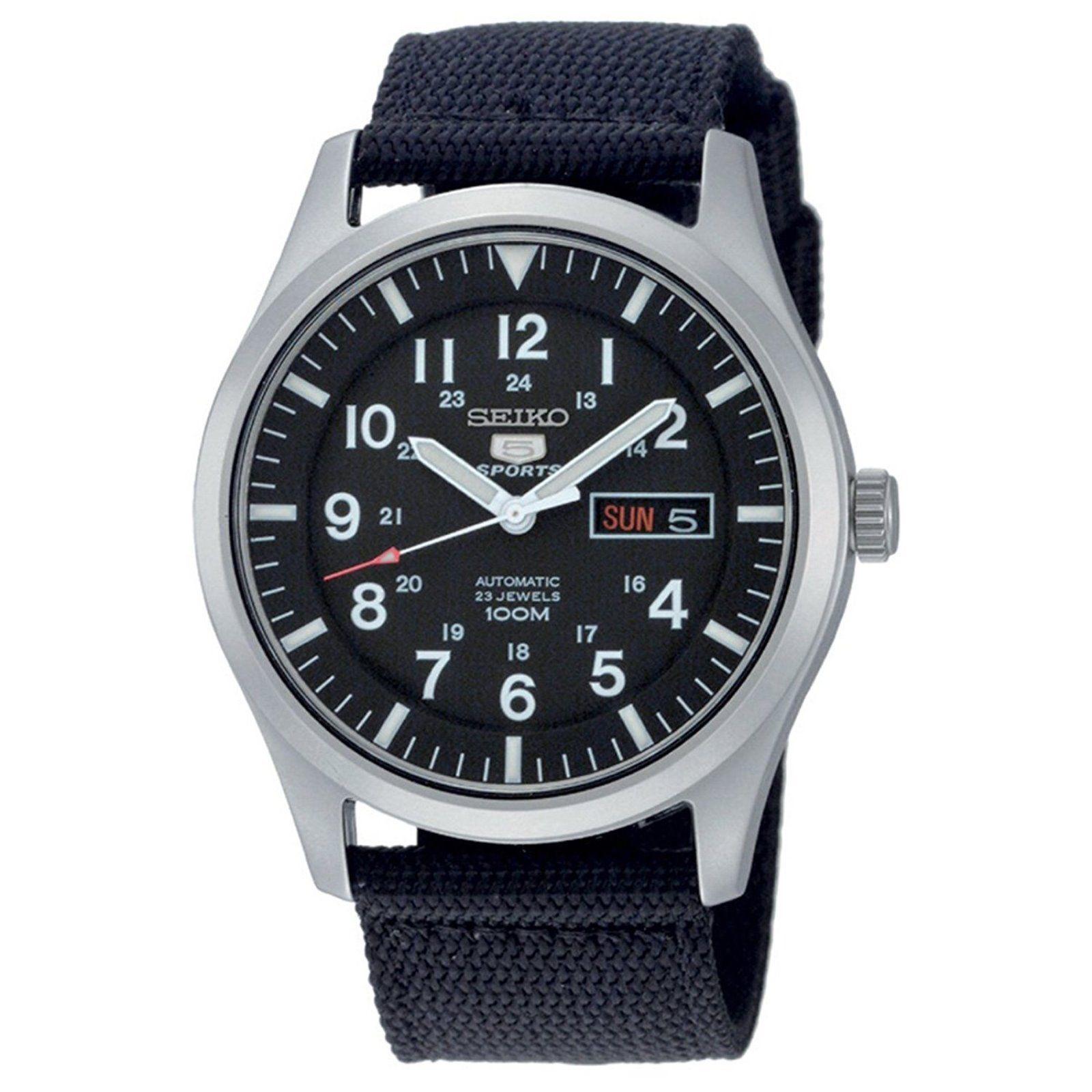 นาฬิกาผู้ชาย Seiko รุ่น SNZG15K1, Seiko 5 Automatic Men's Watch