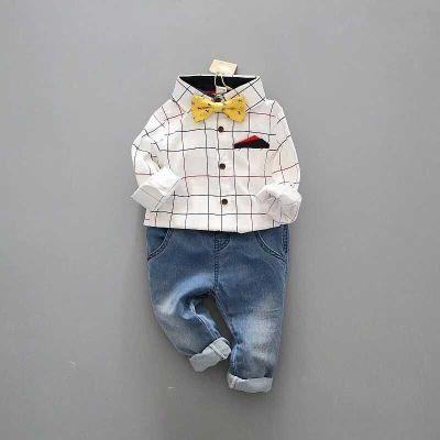 ID312- เสื้อ+กางเกง 5 ชุด /แพค ไซส์ 100-140