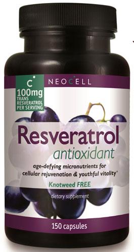 NeoCell Resveratrol Antioxidant 150 Capsules