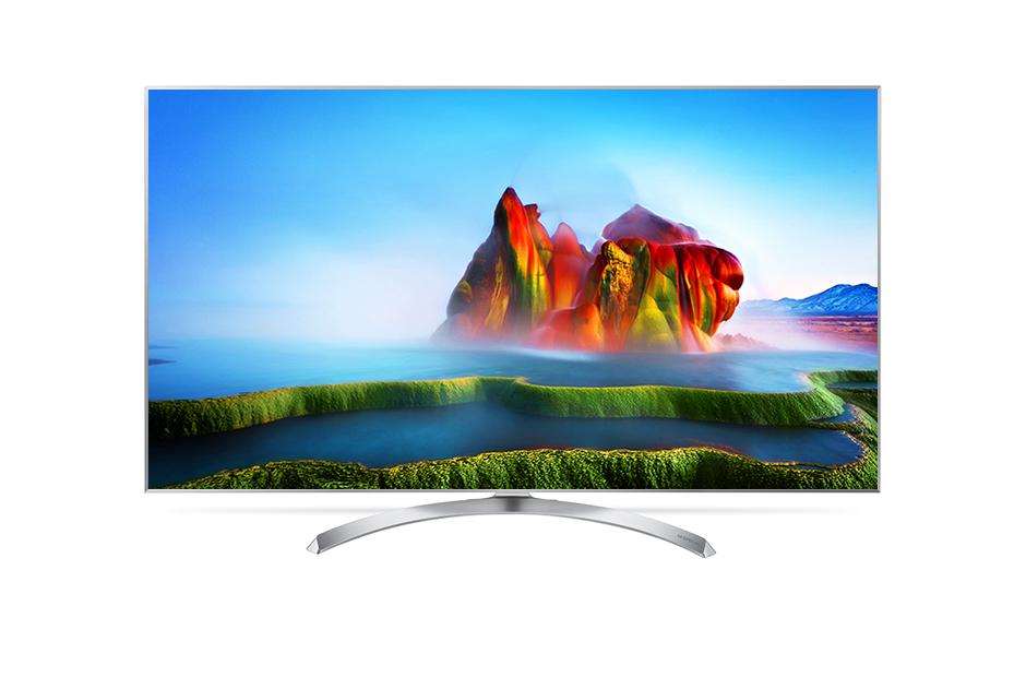 LG SUPER UHD 4K Smart TV webOS 3.5 Nano Cell | Multi Active HDR รุ่น 55SJ800T
