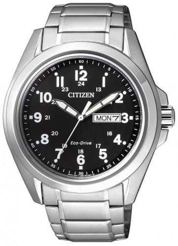นาฬิกาข้อมือผู้ชาย Citizen Eco-Drive รุ่น AW0050-58E, 100m Calendar Sports Watch