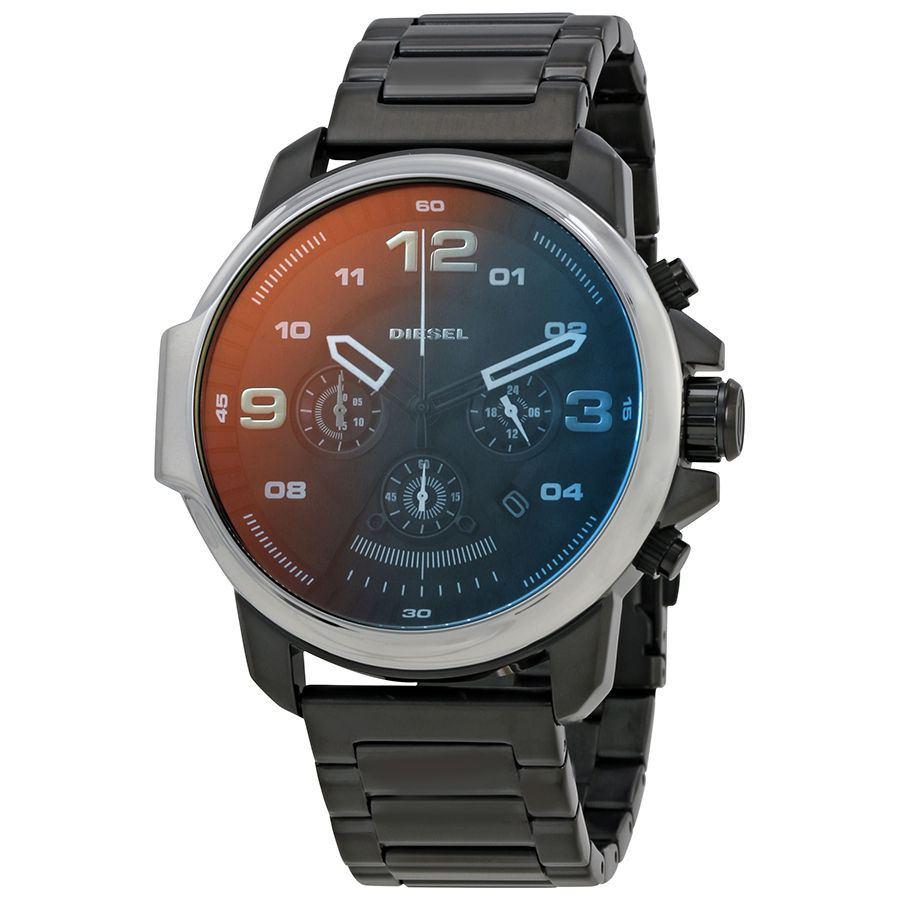 นาฬิกาผู้ชาย Diesel รุ่น DZ4434, Whiplash Black Dial Chronograph