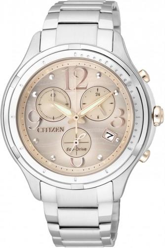 นาฬิกาผู้หญิง Citizen Eco-Drive รุ่น FB1371-58P, Sapphire Japan Chronograph