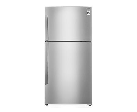 ตู้เย็น 2 ประตู ระบบอินเวอร์เตอร์ ขนาด 17.9 คิว สีเงินแพลตตินั่ม LG GN-B602HLCL