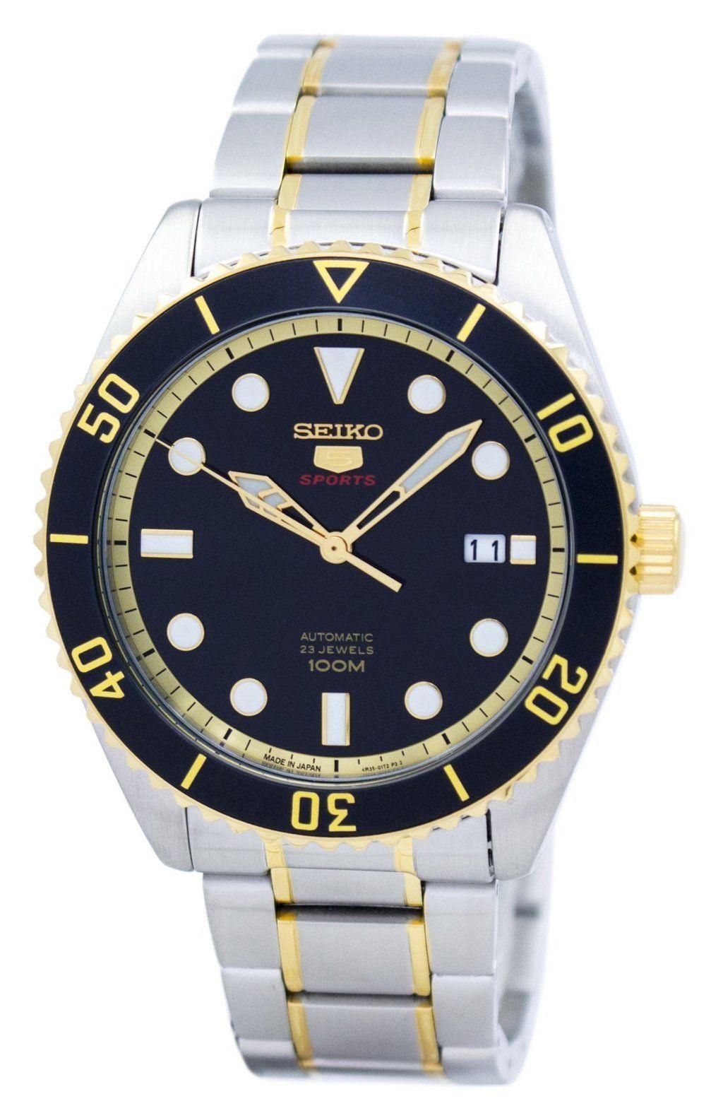 นาฬิกาผู้ชาย Seiko รุ่น SRPB94J1, Seiko 5 Sports Automatic Japan