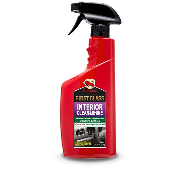 Bullson interior clean&shine ผลิตภัณฑ์ ทำความสะอาดและดูแลเบาะหนัง