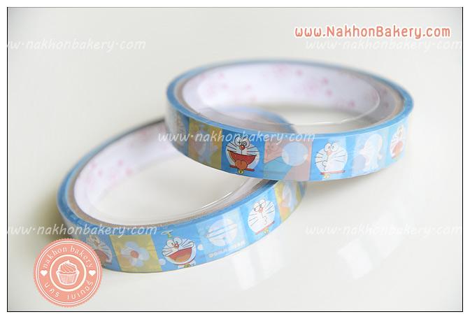 สก๊อตเทป โดราเอมอน Doraemon สีฟ้า น่ารัก