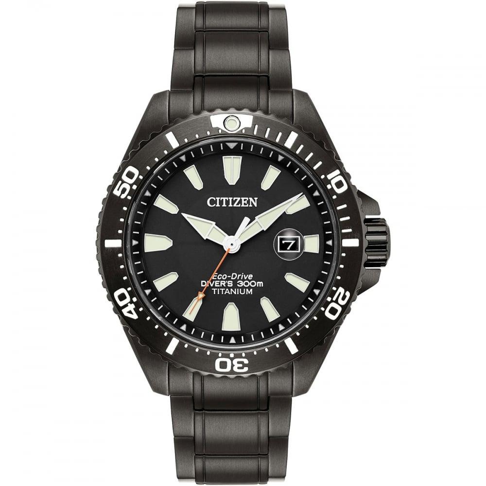 นาฬิกาผู้ชาย Citizen Eco-Drive รุ่น BN0149-57EE, Royal Marines Commandos Limited Edition Titanium Men's Watch