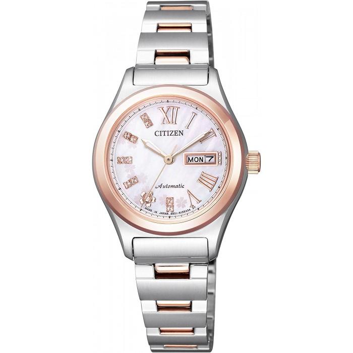 นาฬิกาผู้หญิง Citizen รุ่น PD7166-54Y, Citizen Collection Sakura Made in Japan, Limited 2,000