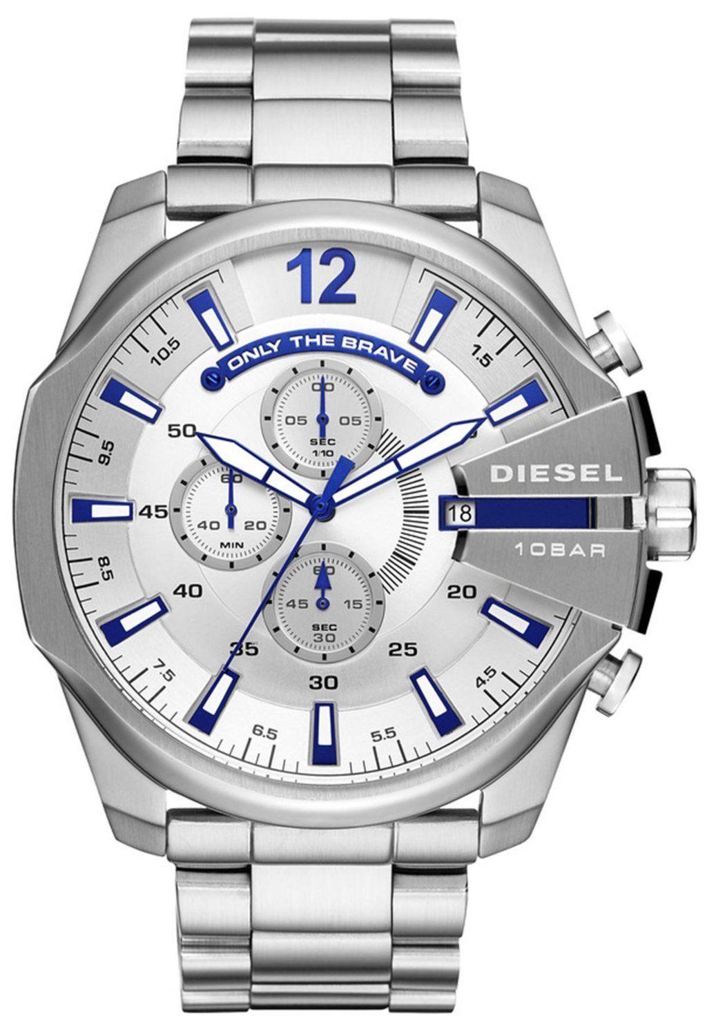 นาฬิกาผู้ชาย Diesel รุ่น DZ4477, Timeframes Mega Chief Chronograph Quartz Men's Watch
