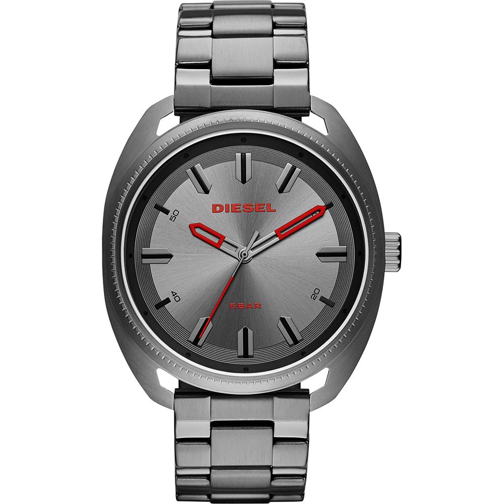 นาฬิกาผู้ชาย Diesel รุ่น DZ1855, Fastback Features A Gunmetal Case, Gray Sunray Dial Men's Watch