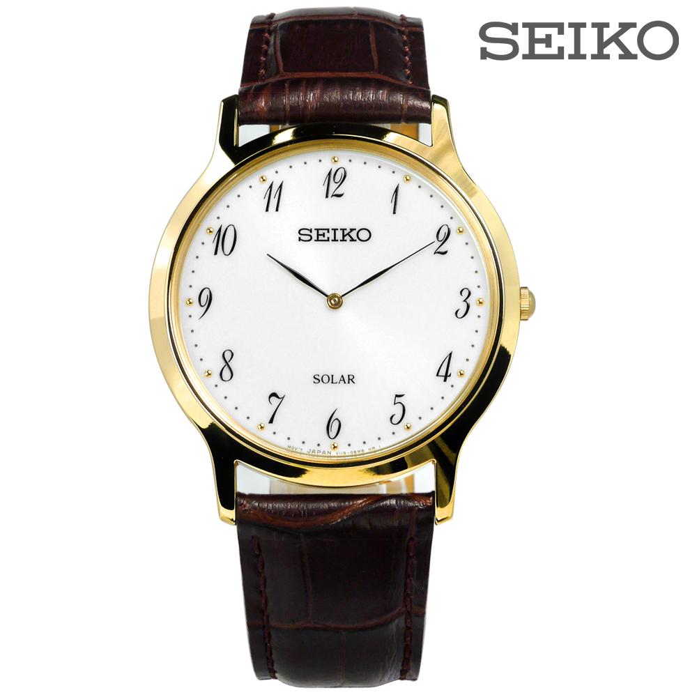 นาฬิกาผู้ชาย Seiko รุ่น SUP860P1, Solar