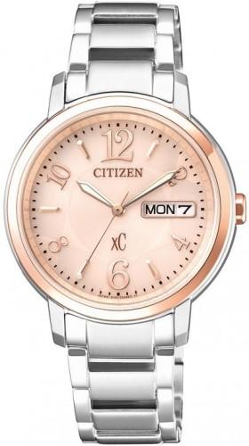 นาฬิกาผู้หญิง Citizen Eco-Drive รุ่น EW2424-50W, XC Japan Sapphire
