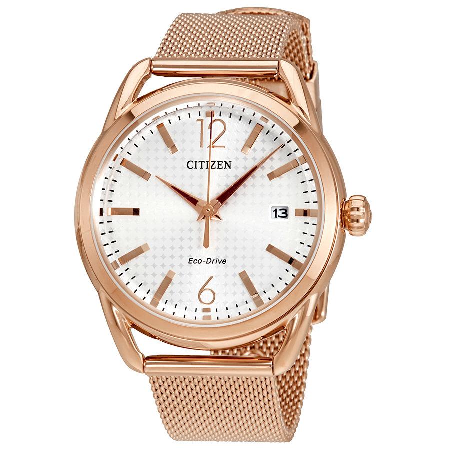 นาฬิกาผู้หญิง Citizen Eco-Drive รุ่น FE6083-72A, LTR