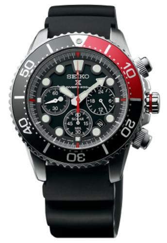 นาฬิกาผู้ชาย Seiko รุ่น SSC617P1, Prospex Diver's Solar Chronograph 200M