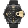 นาฬิกาผู้ชาย Diesel รุ่น DZ7377, Uber Chief Black Dial Black Leather