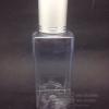 SB120 ml ใส+จุกตัน+ฝาเกลียวอลูสีเงินลาย แพคละ 10 ชิ้น