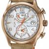 นาฬิกาข้อมือผู้หญิง Citizen Eco-Drive รุ่น FC0003-18D, Global Radio Controlled AT Sapphire World Time Leather Ladies Watch