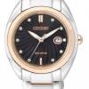 นาฬิกาข้อมือผู้หญิง Citizen Eco-Drive รุ่น EM0315-59E, Diamonds Sapphire Elegant Watch