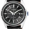 นาฬิกาข้อมือผู้ชาย Citizen Eco-Drive รุ่น BM6890-09E, 100m Leather Sports Watch