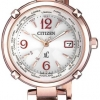 นาฬิกาผู้หญิง Citizen Eco-Drive รุ่น EC1047-57A, xC Radio Controlled World Time Japan Sapphire Women's Watch