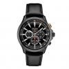 นาฬิกาผู้ชาย Seiko รุ่น SSC639, Solar Chronograph Black Leather Strap