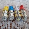 ไฟ SMD แบบ 9 ดวง5W ขั่ว T10