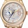 นาฬิกาข้อมือผู้ชาย Citizen Automatic รุ่น NP3003-56A, Meccanico Mechanical Gold Tone Sapphire Japan Watch