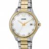นาฬิกาผู้หญิง Citizen รุ่น EV0054-54D, Crystal Mother Of Pearl Dial