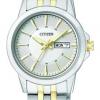 นาฬิกาผู้หญิง Citizen รุ่น EQ0608-55A, Dual Tone Analog Display
